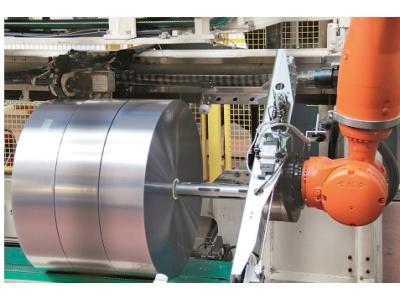 包装机器人准确、快速的包装过程