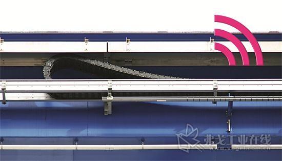 图1 无需保养的滑动轴承和一个智能磨损传感器应能够确保起重机和龙门架的该磙子链的使用寿命更长