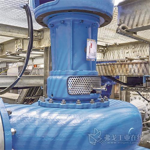 图2 ABB公司的Ability智能传感器也可用于泵,这样,泵便能够处在持续监控中