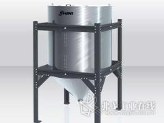 对原料进行有效控制的高精度实时下料秤重装置