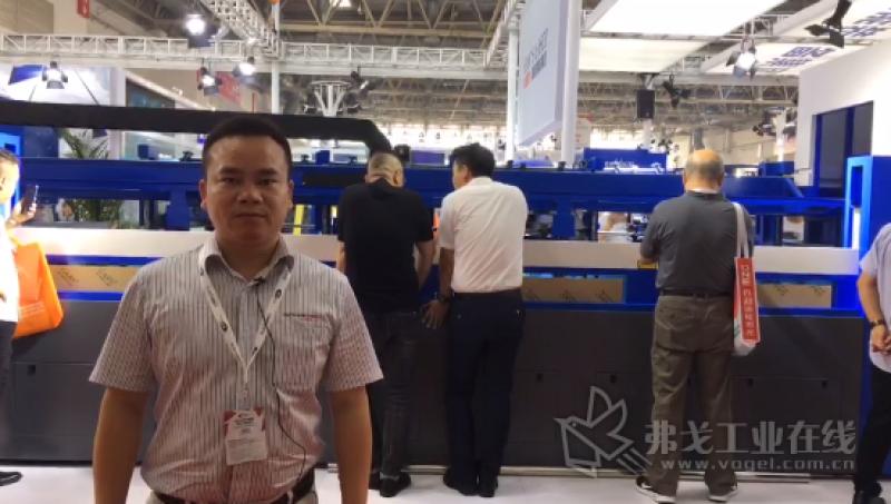 CIMES 2018--大族激光智能装备集团中西南(长沙)运营中心总经理朱朝明先生介绍展台亮点