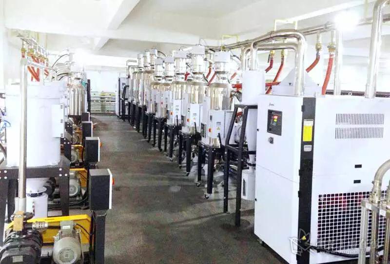 信易为中央原料处理系统专门构建了钢构平台