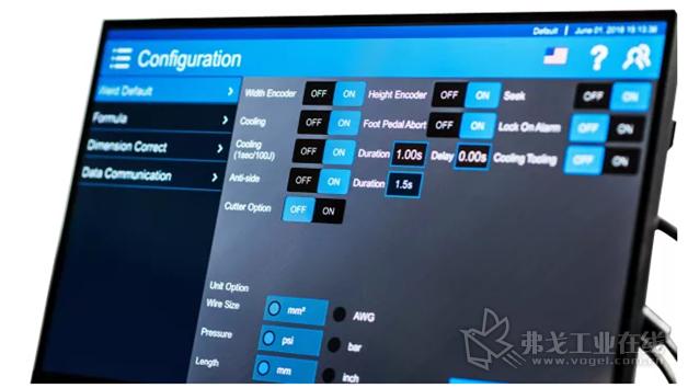22英寸触控屏和用户友好的人机界面(HMI)