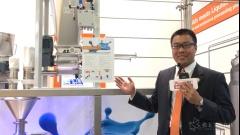 ACHEMA 2018 访AZO中国混合工艺部销售经理   周志斌先生