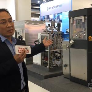 ACHEMA 2018 访山东新华医疗制药科技集团 销售总监 籍文涛先生