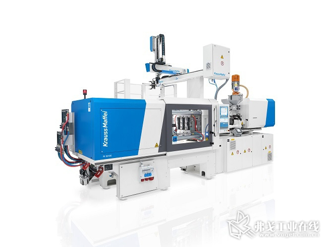 克劳斯玛菲新的全电动PX系列注塑机产能翻番,交付时间缩短一半