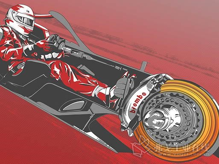 2018年F1比赛中使用布雷博制动套件