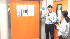 CPHI 2018 苏州霍曼洁净门业科技有限公司总经理邹石东介绍亮点产品