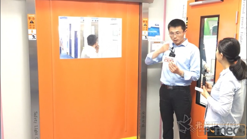 苏州霍曼洁净门业科技有限公司总经理邹石东介绍亮点产品.mp4