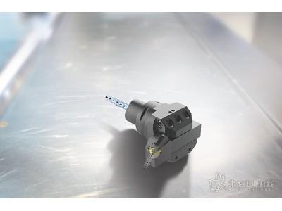 新型 JETSTREAM TOOLING® 螺纹车削刀柄和转接头