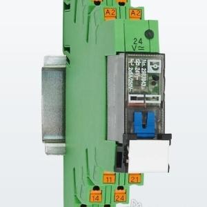 菲尼克斯电气带手动锁定操作的电磁式继电器