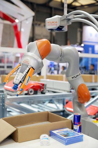 AutoPiQ机器人拆零拣选系统