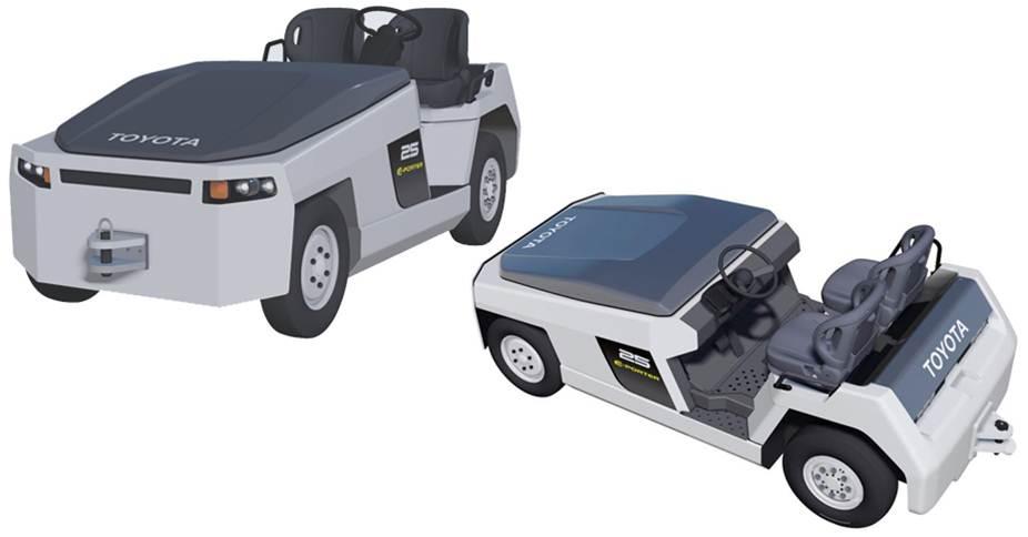 丰田:3TE系列 电动牵引车