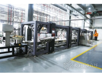 机器人智能化包装生产线系统