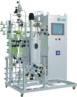 图2 不锈钢生物反应器