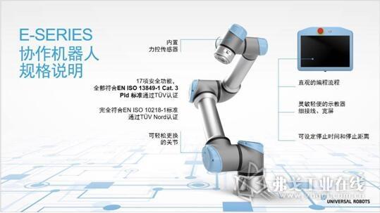 协作机器人规格说明