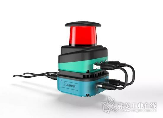 倍加福R2000系列激光扫描仪+速感科技Q300控制器