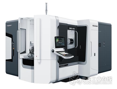 在DMG MORI美国戴维斯工厂生产和组装的第三代NHX 4000和第二代NHX 6300卧式加工中心