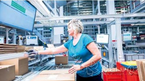 生产和配货中的产品数量越少,则物流过程就越复杂,显示屏和指示灯能够极大的减轻包装工位 仓库员工的工作难度