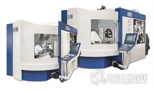 格劳博机床(中国)有限公司自主生产的五轴联动万能加工中心GA350 & GA550