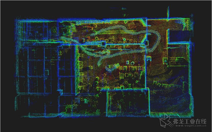 仙知3D点云图