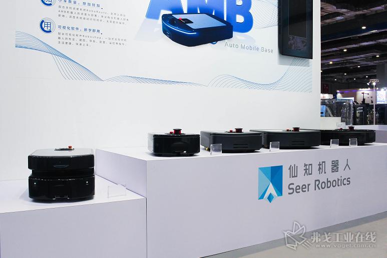 仙知自主研发的AMB系列无人搬运底盘