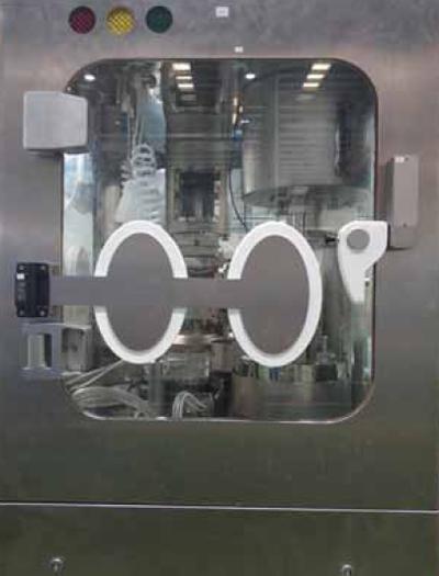 图1 胶囊填充机生产操作区一体化隔离器