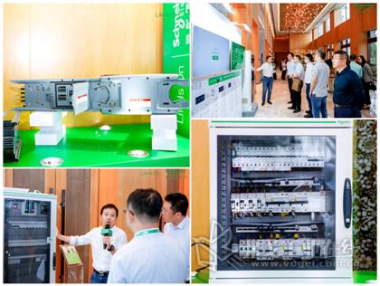 施耐德电气全面展示的解决方案及创新产品吸引大量嘉宾关注