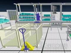 采用虚拟现实技术规划生产流程