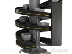英特诺新型螺旋垂直输送机