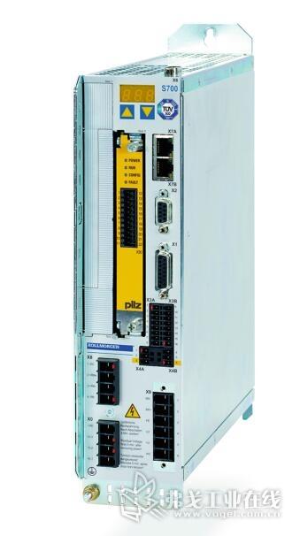 """图2 700型伺服调节器带有""""安全制动控制""""(Safe Brake Control)功能,并集成有""""安全制动测试""""(Safe-Brake – Test)功能"""