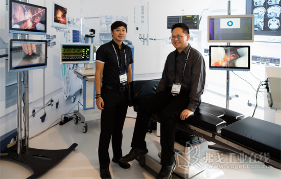 AI技术医疗应用的现场展示
