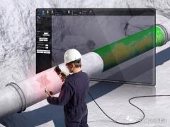 Creaform Pipecheck 将表面腐蚀评估扩展至整段管道