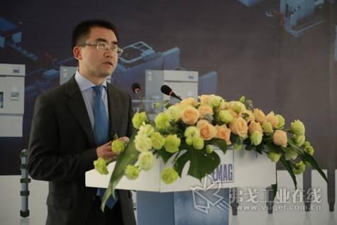 埃马克(重庆)机械有限公司总经理杨铭先生致辞