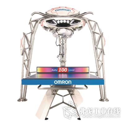 欧姆龙明星机器人FORPHEUS乒乓球机器人