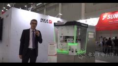 伊马ACTIVE固体制剂事业部 地区经理 Eloi介绍PREXIMA 300压片机