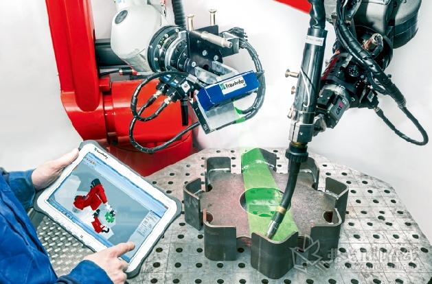 Robot Kit焊接程序软件包提供了全新的、直观的焊接程序编写方法