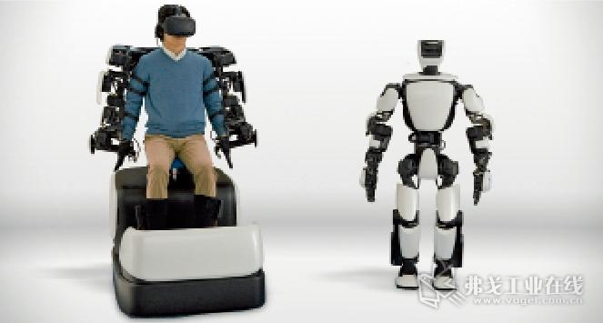 日本Toyota公司研发生产的T-HR3型机器人是一种仿人形机器人,在主操作系统的控制下,这种机器人可以完成人类的运动