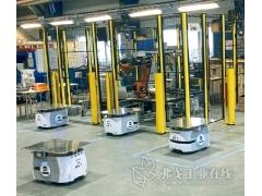 为生产加速的移动式机器人