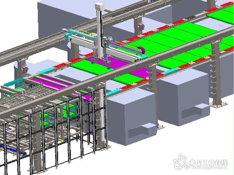横梁、立柱采用模块化拼接设计