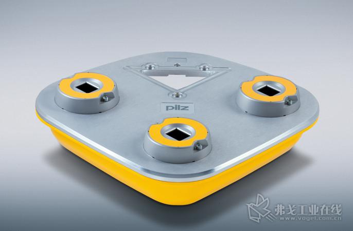 和现存的安全装置不同,SafetyEYE 安装在被监测区域的上空或作为另一种选择可以将其安装在侧上方