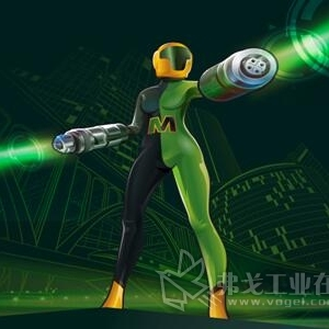 浩亭在国际工业自动化展览会上推出全新女英雄Metrix博士