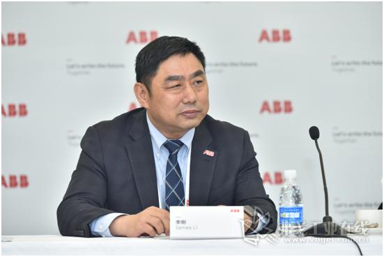 ABB中国机器人及运动控制事业部负责人李刚先生