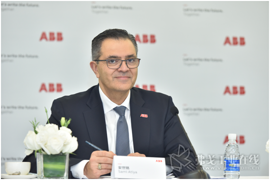 ABB集团机器人及运动控制事业部总裁安世铭先生