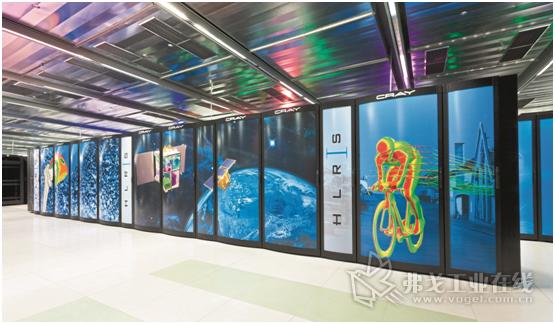 图4 通过访问高性能计算机,如斯图加特高性能计算中心里的,较小型的企业也能进行模拟仿真