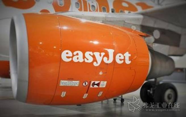 位于公司的维修机库的一架易捷航空A320机型,在这里三维扫描技术的运用改进和加速了飞机损坏评估的进度