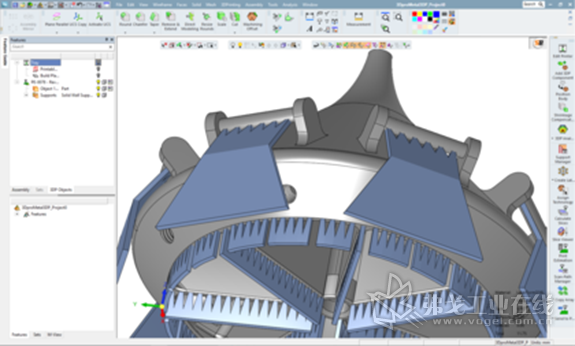 3DXpert™帮助3D ProMetal公司准备并优化用于打印的3D CAD模型