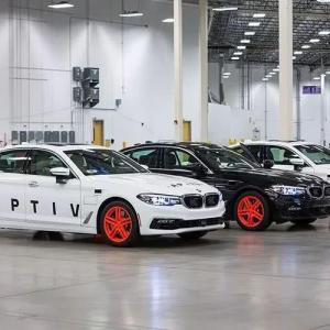 安波福自动驾驶汽车过去12个月的改善情况