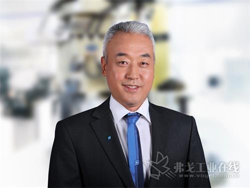 雄克中国区总经理杜尚俭博士