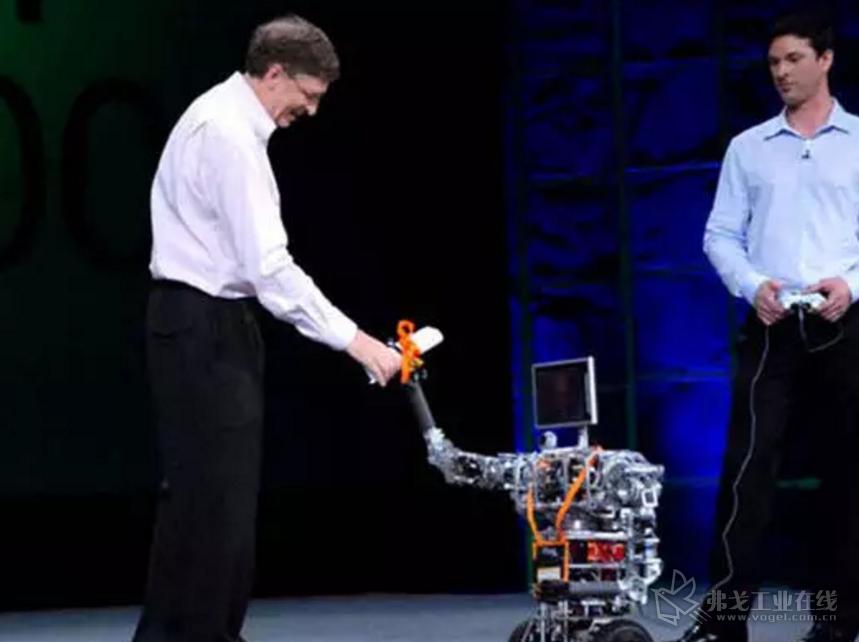 2006年 微软公司推出Microsoft Robotics Studio